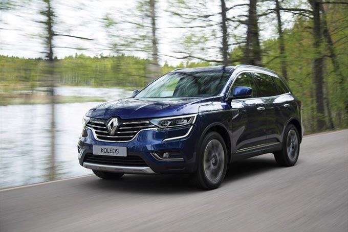 New Renault KOLEOS - Prestigious Design, State of the Art Technology and High-End Refinement come standard