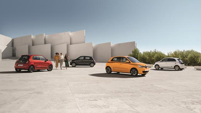 New Renault TWINGO: More fun, more sophisticated than ever