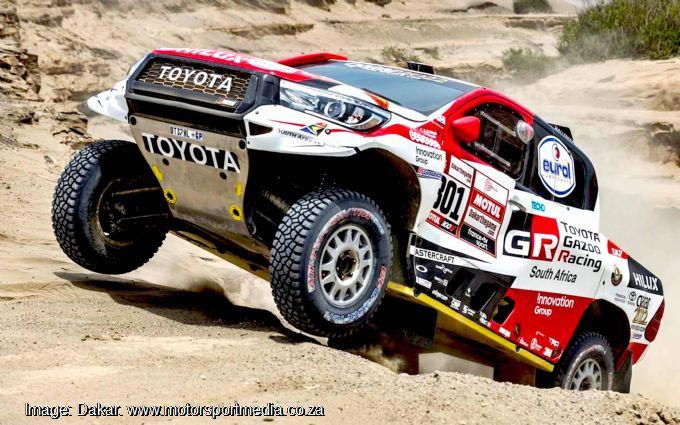 Dakar dice of the giants