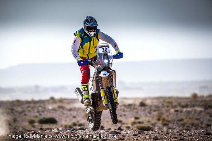 Gilbert all set for Dakar 2019