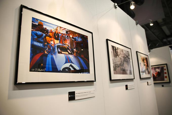 Iconic and evocative photographic collection from motorsport images on display at Autosport International