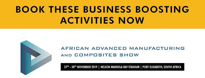 African Advanced Manufacturing and Composites Show - Book these business boosting activities now