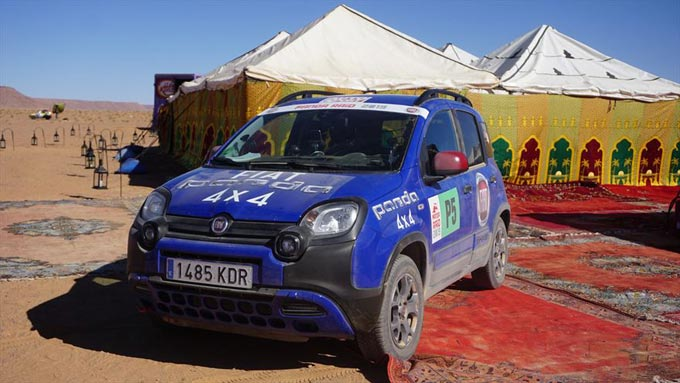 Panda Raid 2019, Fiat Panda Cross is the Champion of the Desert
