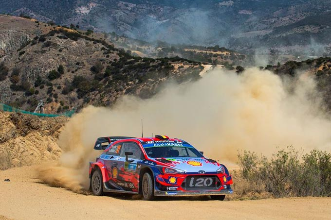 Hyundai re-groups after missing podium in Rally Mexico