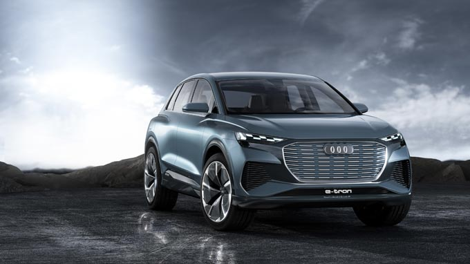 Advance Look at the Series: The Audi Q4 e-tron concept model