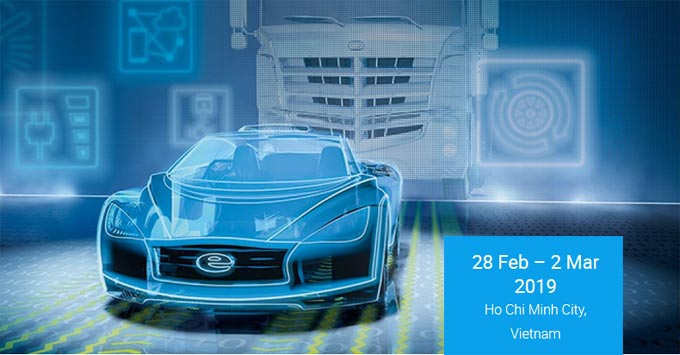 Automechanika Ho Chi Minh City opens for 2019 presenting the latest trends, expertise and automotive entertainment