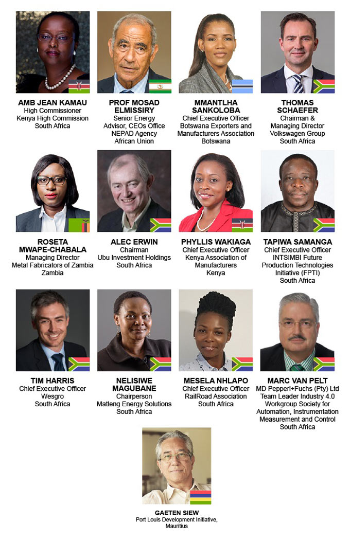 Meet some of our high profile speakers who will participate in discussions at the upcoming Manufacturing Indaba Conference