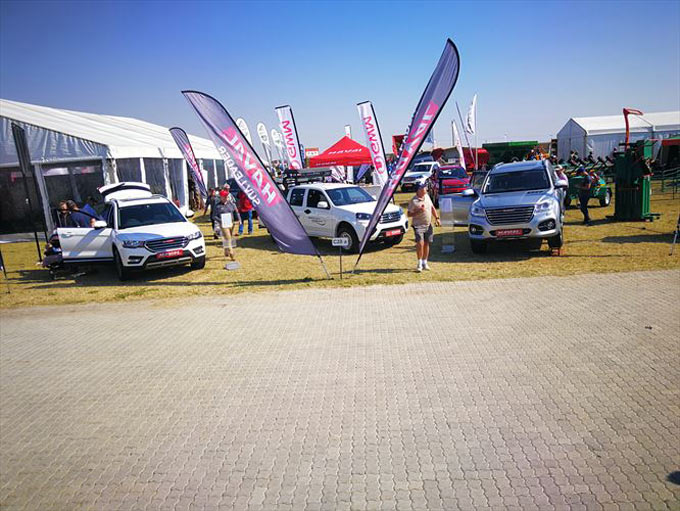 Haval Motor South Africa proudly exhibits their latest offering at Grain SA's NAMPO Harvest Day 14 - 17 May 2019