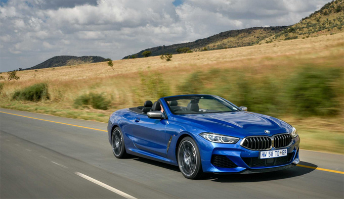 The new BMW 8 Series Convertible available in South Africa