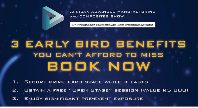 African Advanced Manufacturing and Composites Show - Early Bird