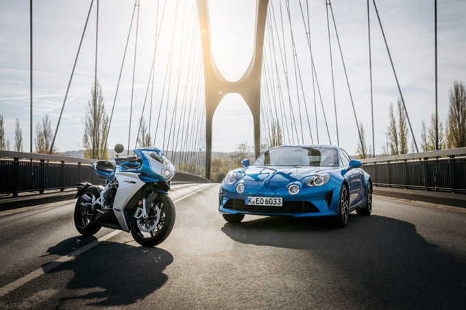 MV Agusta teams up with motorsport legend Alpine for Superveloce Limited Edition inspired by the Alpine A110