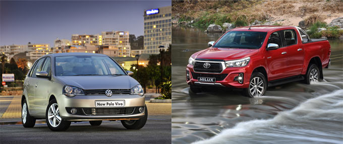 SA's most sold, and most searched, used cars in 2019