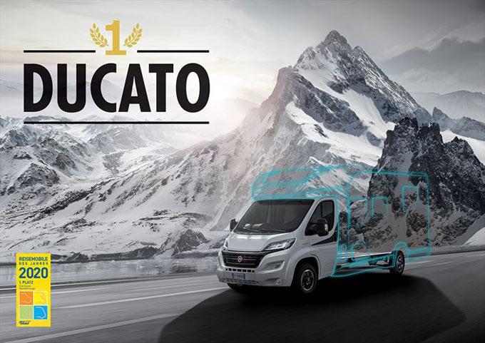 Ducato MY 2020 named