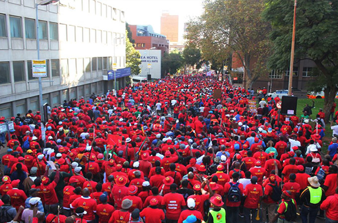 SAFTU protest action impact survey