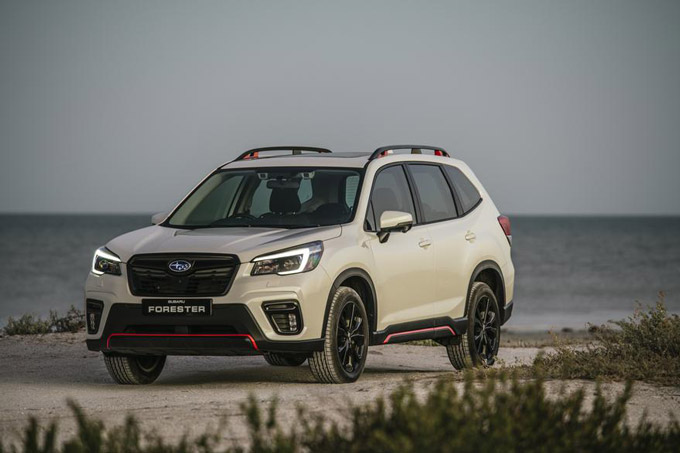 Subaru SA introduces the more powerful 2.5 Forester