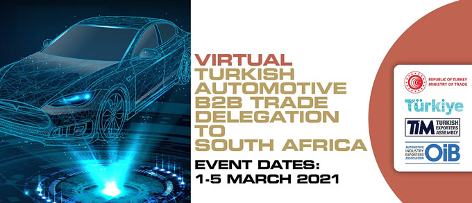 Turkish automotive sector set for virtual trade meetings with South African importers