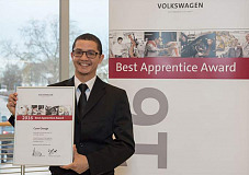 Volkswagen South Africa trainee honoured by Volkswagen Group