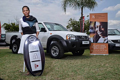 Nissan donates vehicles to eight South African entrepreneurs