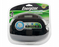 Energizer launch the ultimate universal CHEUF battery charger, for recharging AA, AAA, C, and D cell plus 9-volt batteries