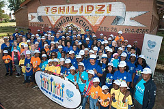 Soweto School gets a new-look school, sustainable vegatable garden and revamped classrooms thanks to Volkswagen Volunteers