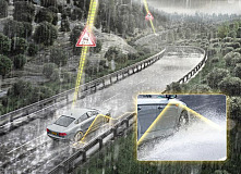 Continental Unveils New Assistance Concepts for Early Risk Detection of Aquaplaning Situations