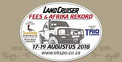 The Land Cruiser Festival and Africa Record 2018