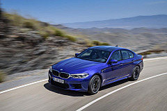 BMW M5 voted World Performance Car 2018 -  now available in South Africa