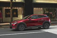 Mazda reveals 2018 CX-3 at New York Auto Show
