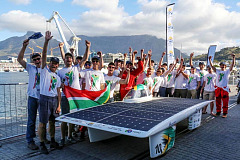 SKF provides technical acumen as proud sponsor of the 2018 Sasol Solar Challenge