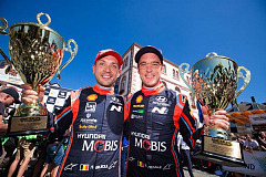 Hyundai on podium again in Germany, retains WRC lead