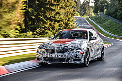 The new BMW 3 Series Sedan: baptism of fire in the