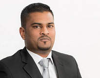 Head of TransUnion Auto in South Africa, Kriben Reddy