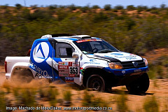 SA team wins Dakar rookie race