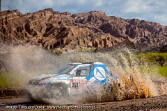 SA team takes Dakar rookie lead