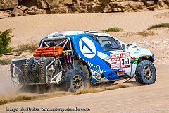Still chasing the Dakar dream - But TreasuryOne team back in contact at last