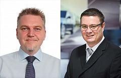 Juan Wheeler (left), new Chief Financial Officer & Daniell Theron (right), new Head of Network Development