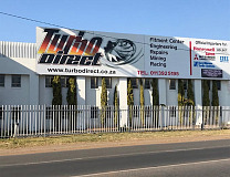 Turbo Direct new building at 40 Electron Avenue, Isando