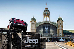 Jeep® Brand Celebrates 115th Anniversary of Harley-Davidson®in Prague
