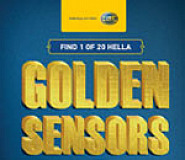 Find one of 20 Hella golden sensors and win your share of R20 000 in vouchers.