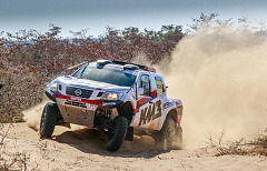 Terence Marsh wins the 2018 Road to Dakar at dramatic Toyota Kalahari Botswana 1000 desert race