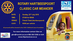 Rotary Classic car Meander 22 July 2018
