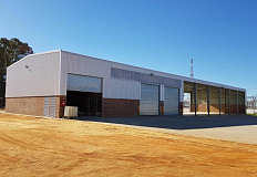 The new Serco repair facility in Boksburg, Gauteng.