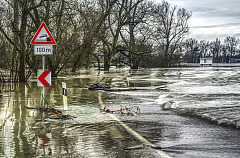 Dealing with flash floods - Avoidance is better than trying to get through flooded areas