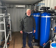 Kobus Pretorius -  Engen False Bay builds a water desalination plant