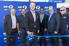 Global Goodyear President and CEO, Rich Kramer officially opens new Hi-Q Bryanston store!