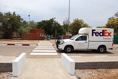 FedEx Supports Safe School Area Initiative in Botswana