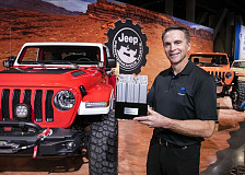 Jeep® Wrangler Earns Ninth Consecutive SEMA '4x4/SUV of the Year' Award