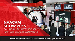 NAACAM Show 2019: Calling all Exhibitors to Apply for Tech. Demo. Presentations