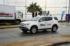 Reliable logistics support during the Isuzu Ironman 70.3 World Championships