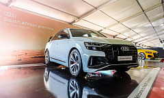 Audi Q8 premieres at the 2018 South African Festival of Motoring